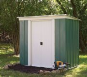 Metal Pent Shed From Rowlinson's